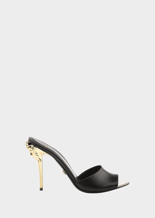 03c4ed76d Medusa Heel Open-Toe Sandal by Versace for Women's Sandals. With their  sleek design, these Medusa Head open toe sandals are a great ...