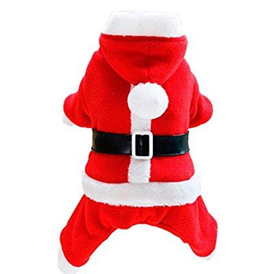 Outtop Dog Clothes Christmas Winter Small Big Sized Boy Girl