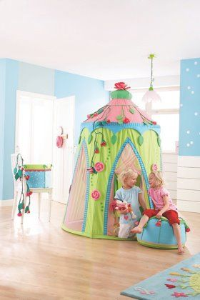 Beautiful tent - this might be a bit ambitious for the space though!
