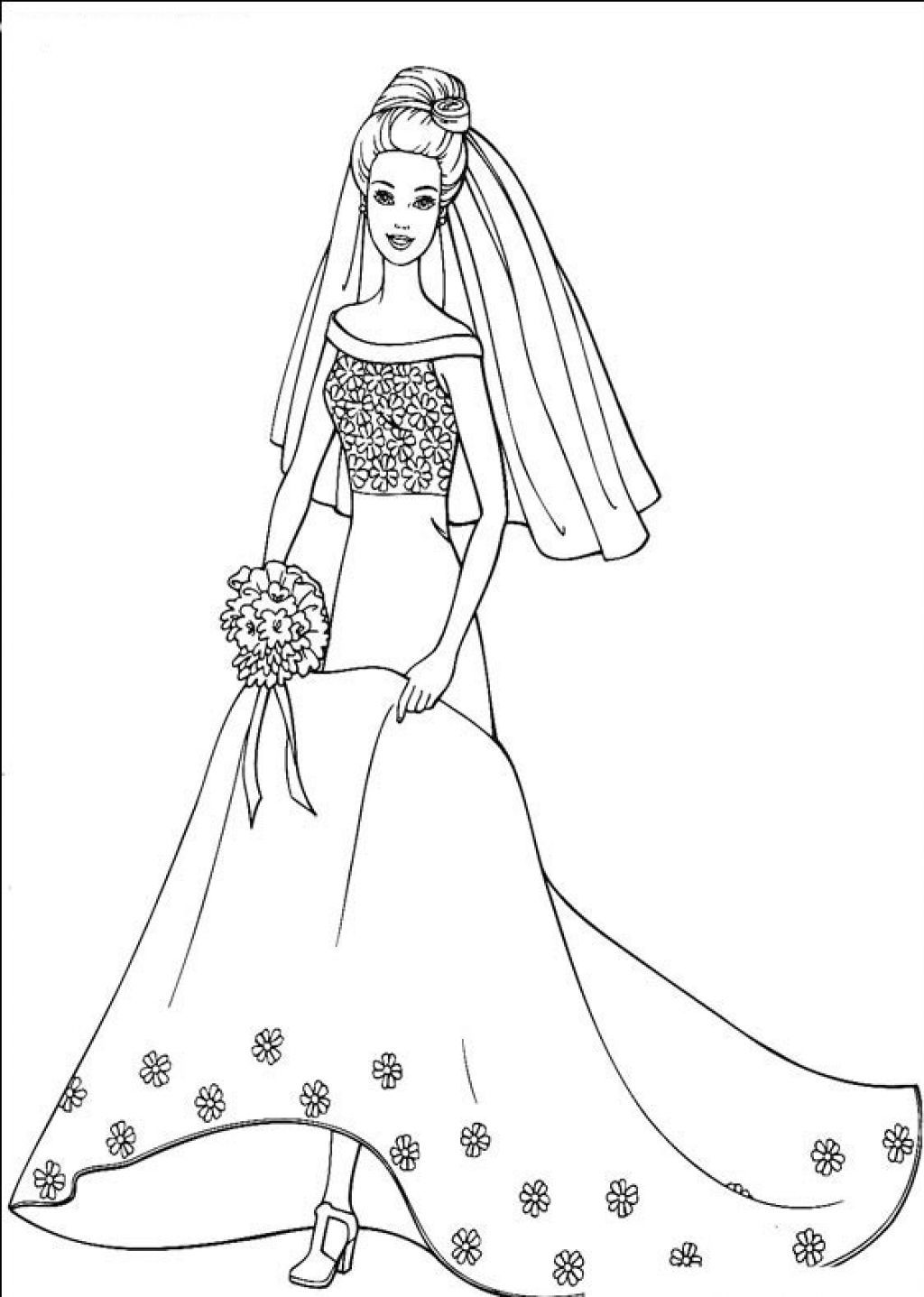 Barbie Coloring Page | Monster High | Pinterest | Dibujo
