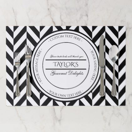 Create Your Own Personalized Restaurant Paper Placemat Zazzle Com Placemat Design Placemats Create Your Own