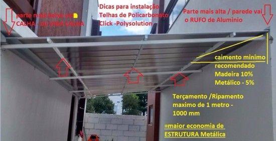 Detalhes tecnicos de como instalar com eficiencia tecnica as telhas de…