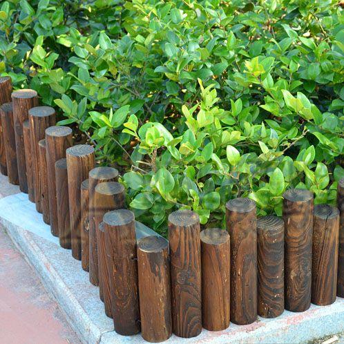 timber flower beds cerca de madeira guardrail cerca de madeira - cercas para jardin