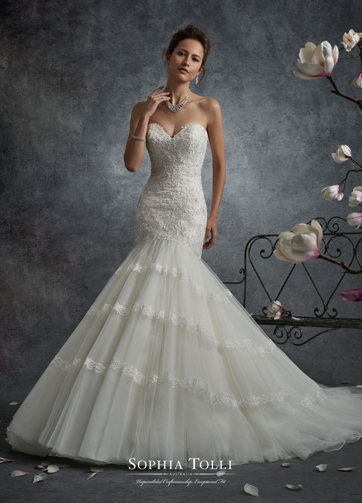 Sophia tolli y saturn all dressed up bridal gown products