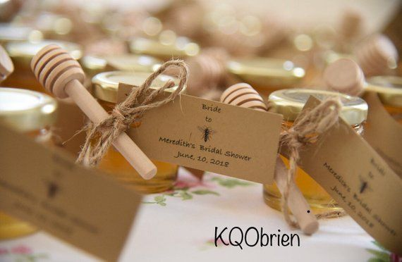 45 Honey Favors Mini Honey Dipper Sticks Personalized Bee Tag Bulk Honey Mini Jars Raw Honey Twine Love Is Swee Honey Wedding Favors Honey Wedding Honey Favors