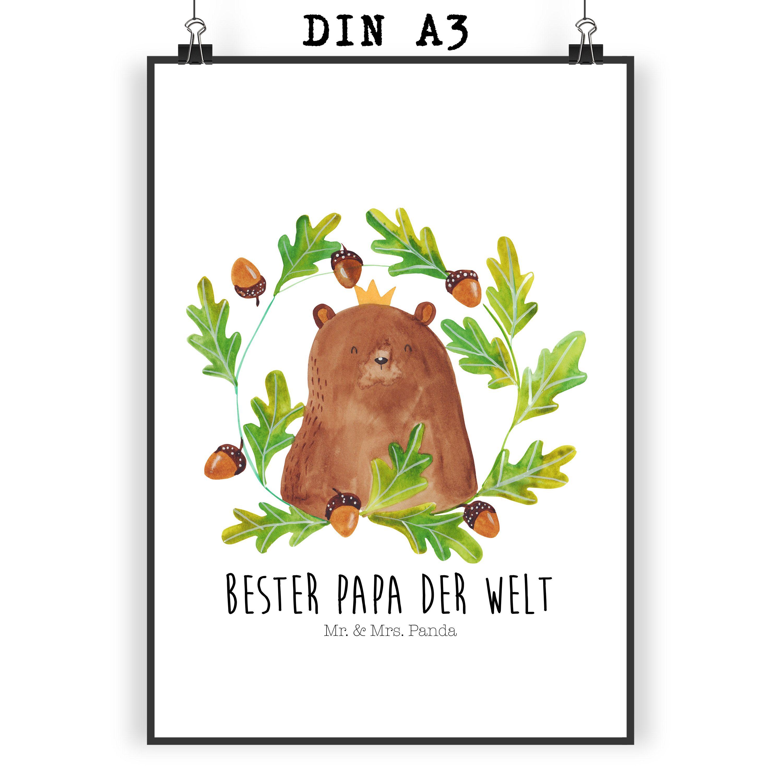 Poster DIN A3 Bär König
