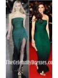 Rachel Weisz Green Evening Dress 62nd Cannes Film Festival - TheCelebrityDresses