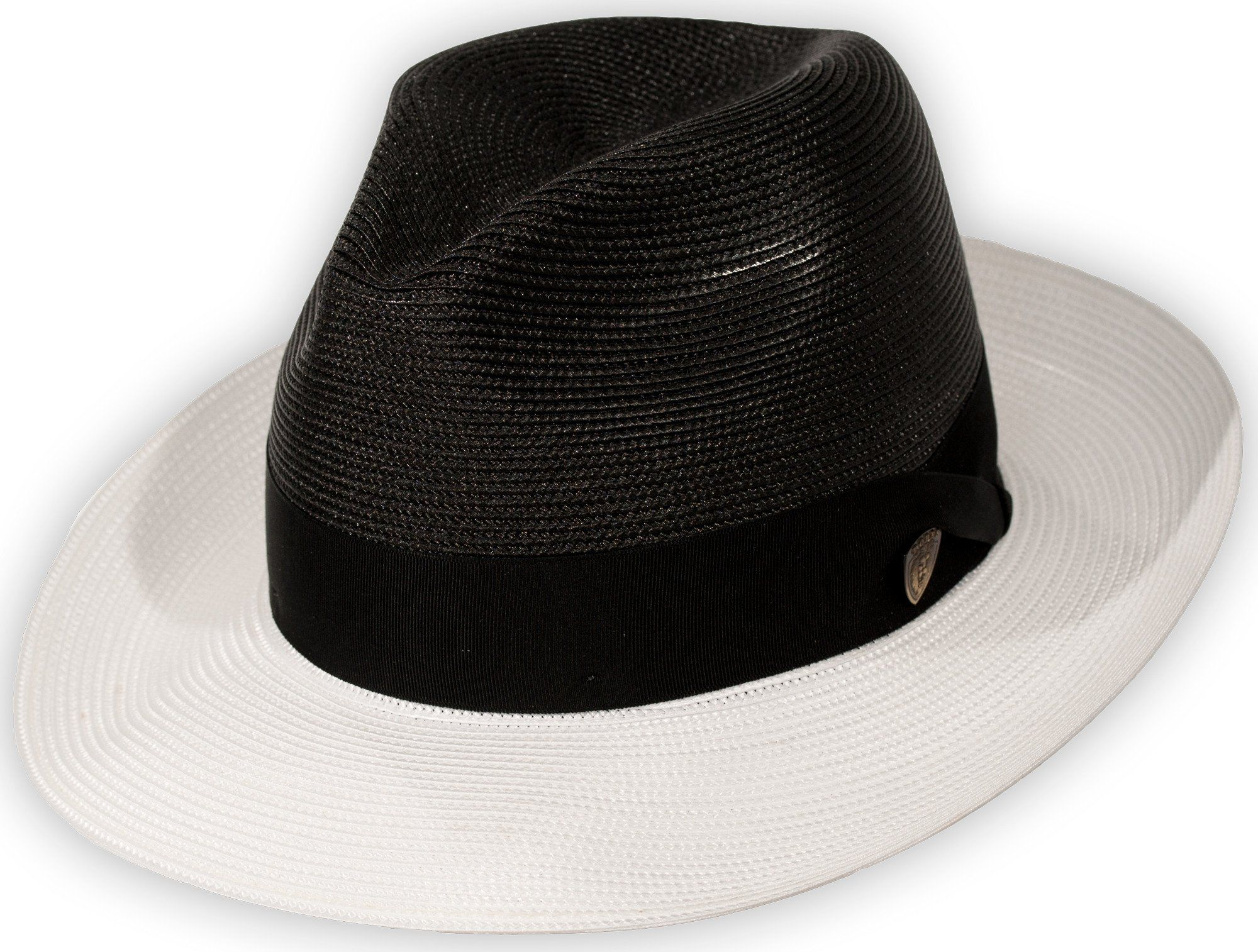 27e376af672b52 Toledo Two-Tone Straw Fedora by Dobbs | Hats | Straw fedora, Two ...