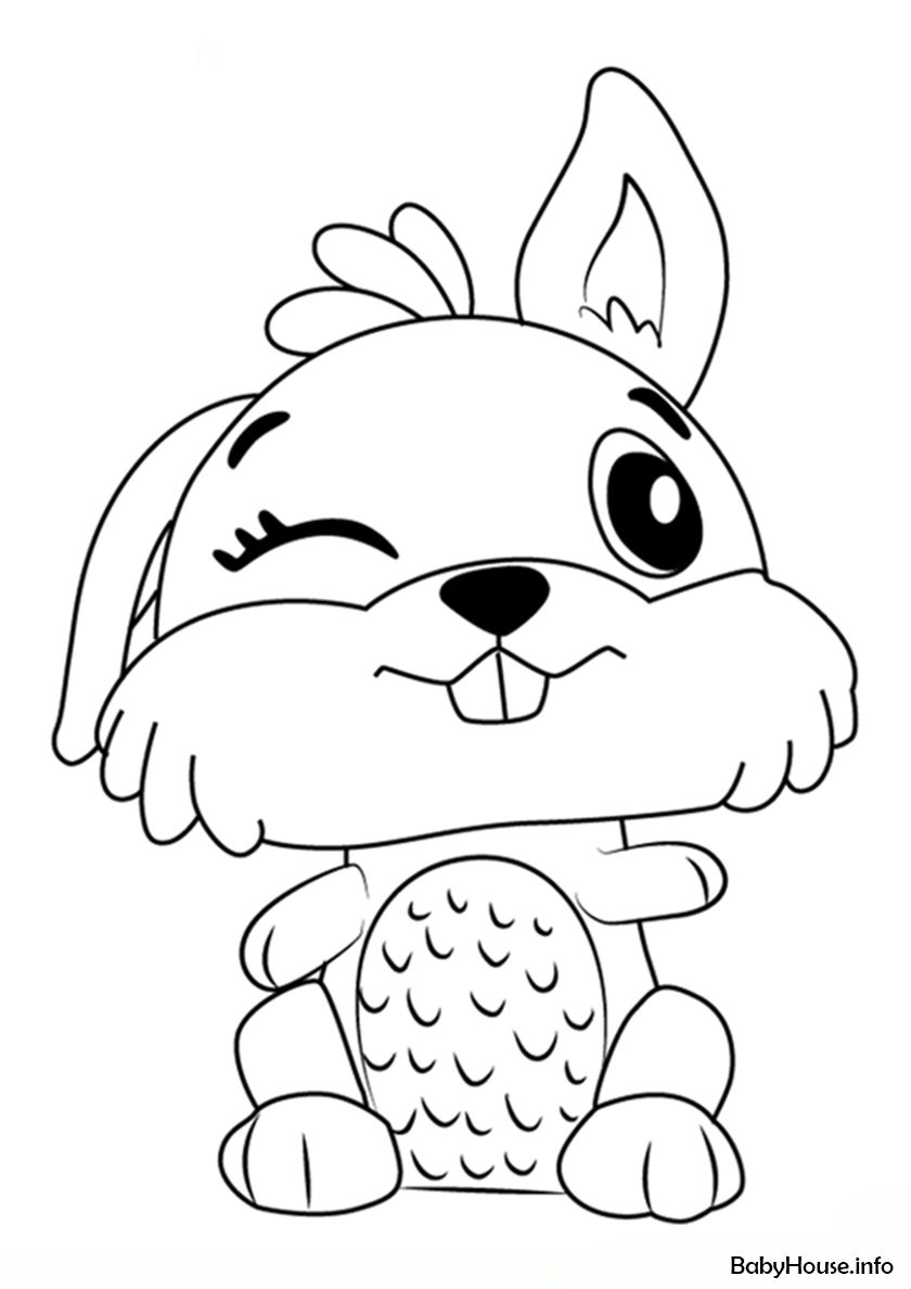 Rabbit High Quality Free Coloring From The Category Hatchimals