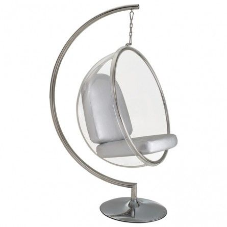 bubble club chair replica baby shower chairs for mom to be eero aarnio with stand house pinterest