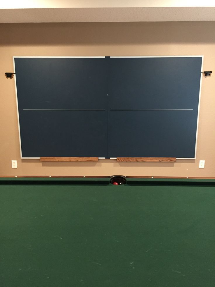 Table Tennis Room Design: 1000 Ideas About Ping Pong Room On Pinterest Ping Pong