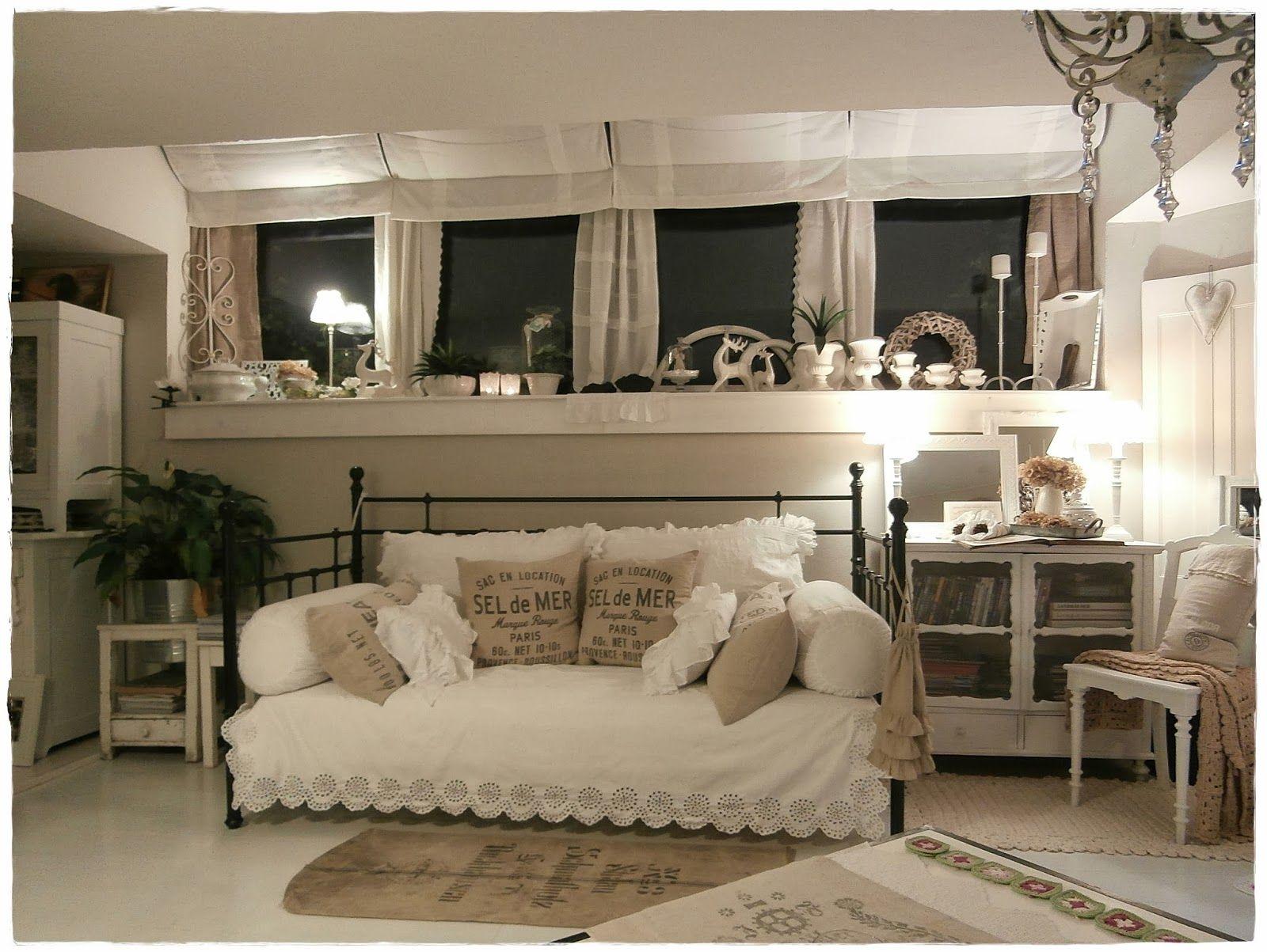 Una Romantica Casa Shabby Chic Style In Centro A Vienna Arredamento Soggiorno Interni