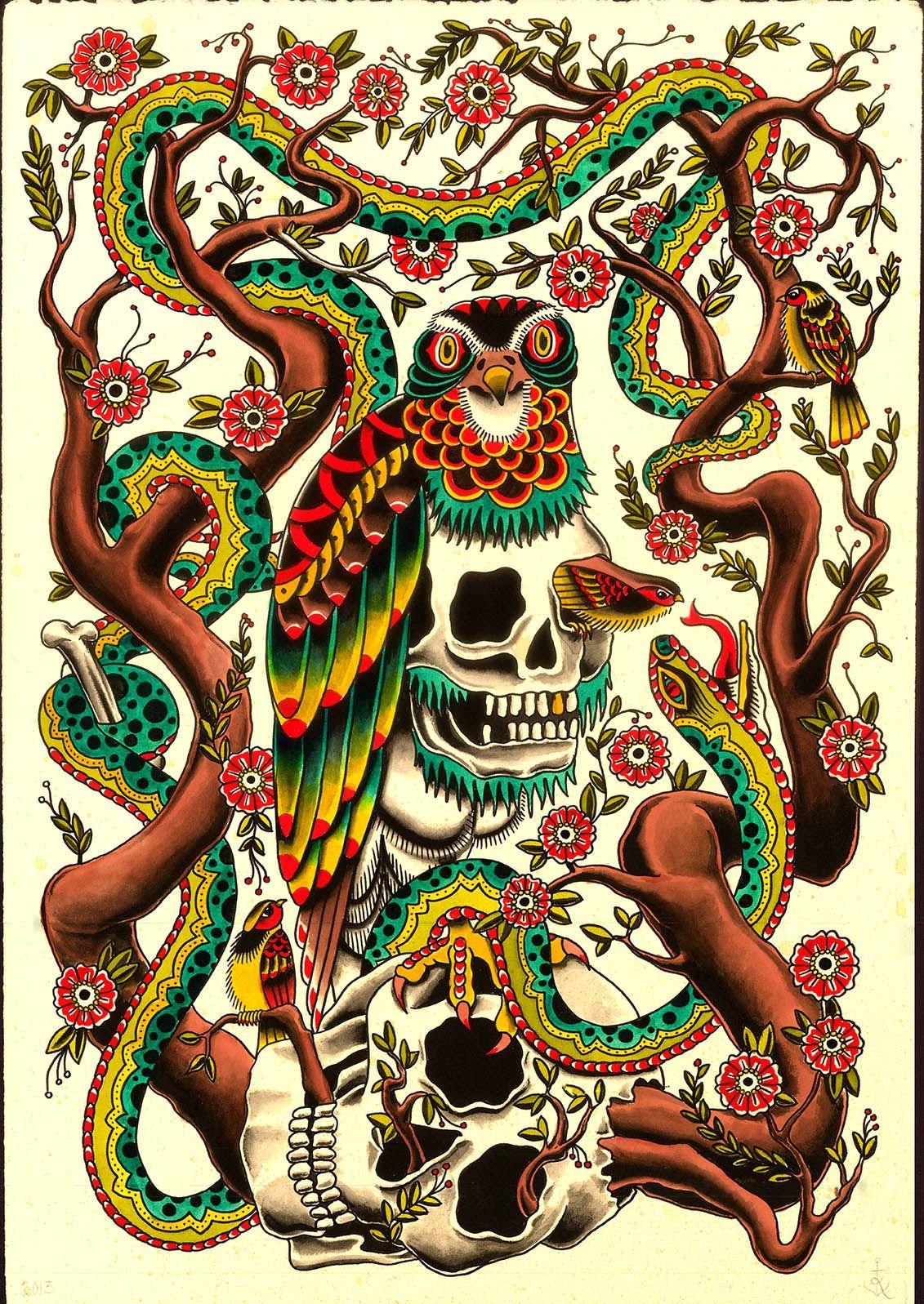Kyler Martz Traditional Tattoo Wallpaper Traditional Tattoo Design Flash Tattoo Designs Traditional tattoo flash wallpaper