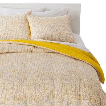 Stitch Comforter Set   Yellow   Room Essentials™ : Target