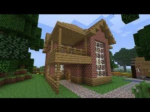 Minecraft Xbox 1 8 2 House Tutorial Brick