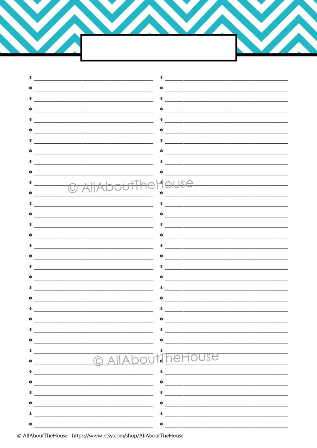 Editable to Do List Template Printable (With images) To