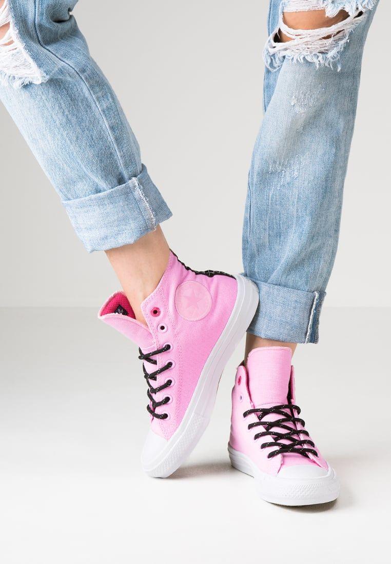 add8ca96b0dd Converse CHUCK TAYLOR ALL STAR II - Sneakers hoog - icy pink vivid  pink white - Zalando.nl