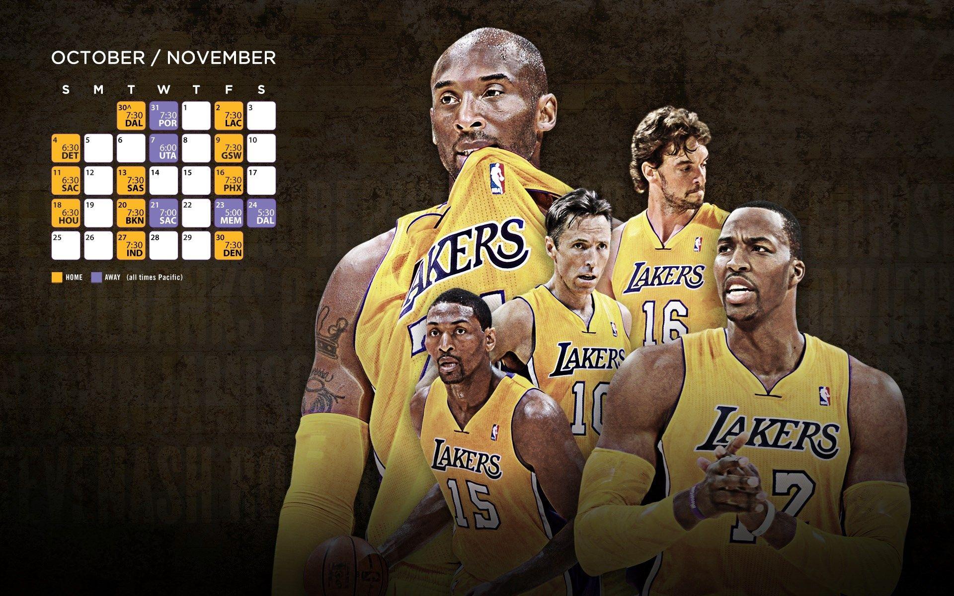 Nba La Lakers Roster Backgrounds La Lakers Lakers Roster Lakers Team