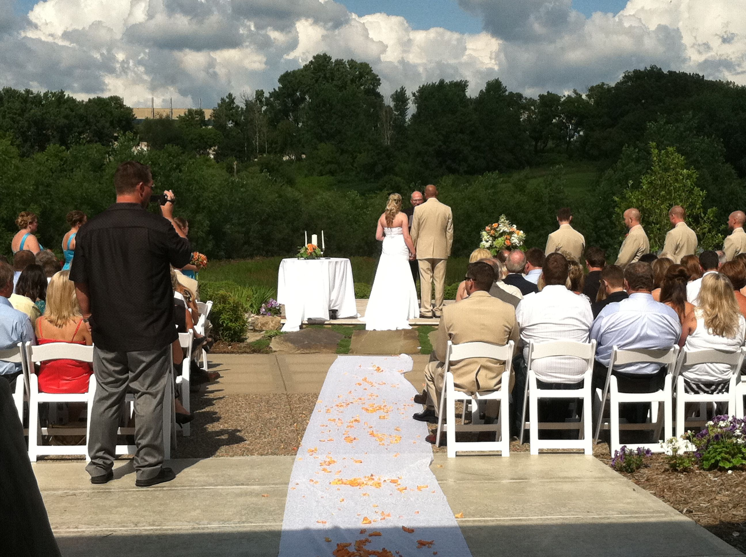 Perfect Panoramic Views For An Outdoor Ceremony At The