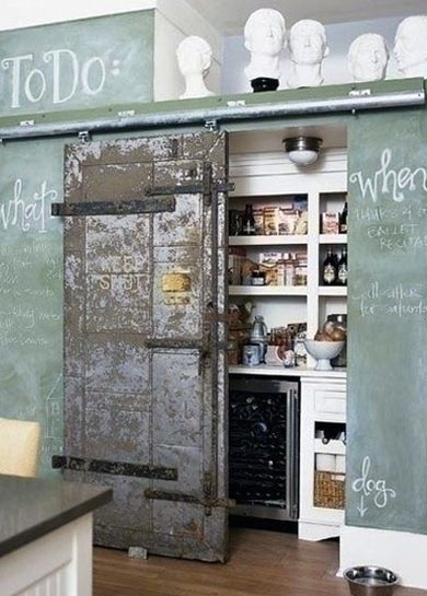 Beyond The Farm 10 New Ideas For Barn Doors Kitchen Pantry Design Kitchen Inspirations Pantry Design