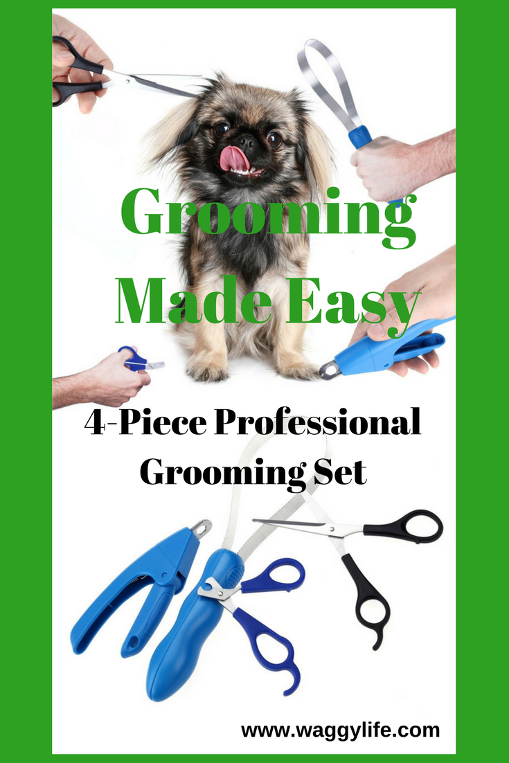 A Professional Grooming Kit That Makes Grooming Your Puppy A Breeze Save On Grooming Costs By Doing It Yourself Safely In The Comf Dog Grooming Grooming Kit Dog Nail Clippers
