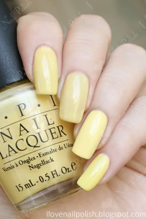 Pale Yellow Nail Polish Comparison Swatches Nails In 2019 Yellow Nails Yellow Nail Polish