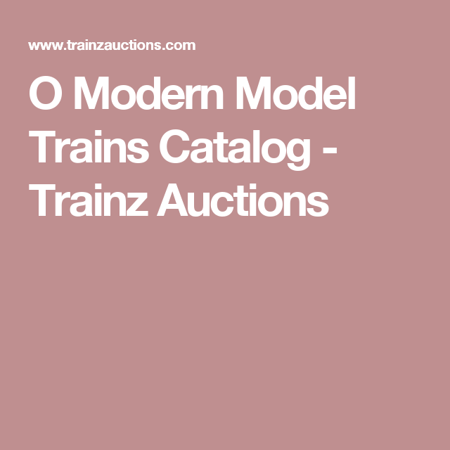 Trainz Auctions