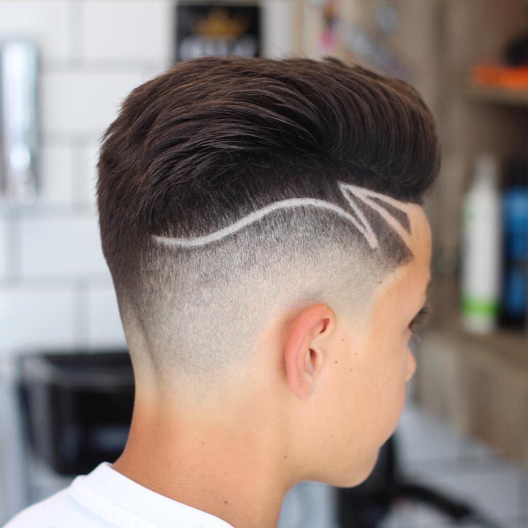 Pin By Britnee Arvella On Mens Hairtattoos In 2020 Simple Hair Designs Haircut Designs Hair Designs For Boys