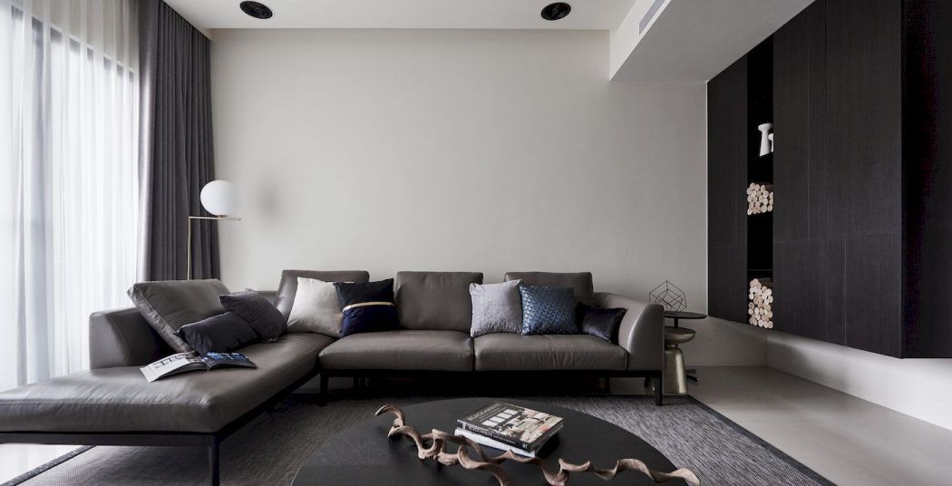 Planes of Greyscale by RIS Interior Design Interiors Pinterest