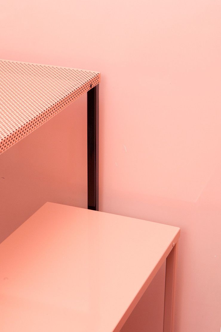 Bitossi pink bar by arabeschi di latte color and for Polygon produktdesign