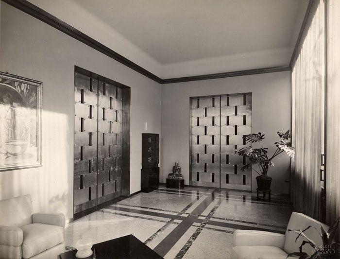 Villa necchi campiglio milano 1932 35 piero portaluppi for Architetto interni