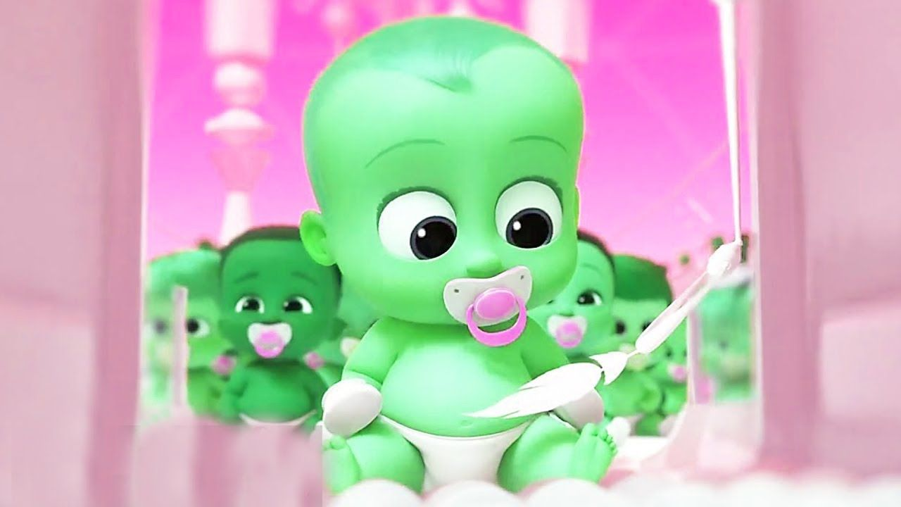 Learn Colors With THE BOSS BABY Funny Videos For Children - THE BOSS ...