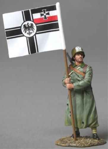 World War 1 German Army GW061B Freikorps Flag Bearer - Made