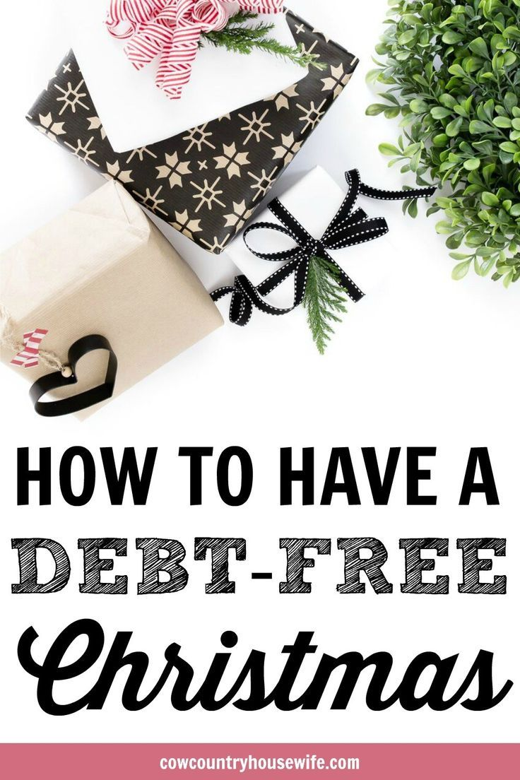 How to Have a Debt-Free Christmas | Debt, Frugal and Frugal living