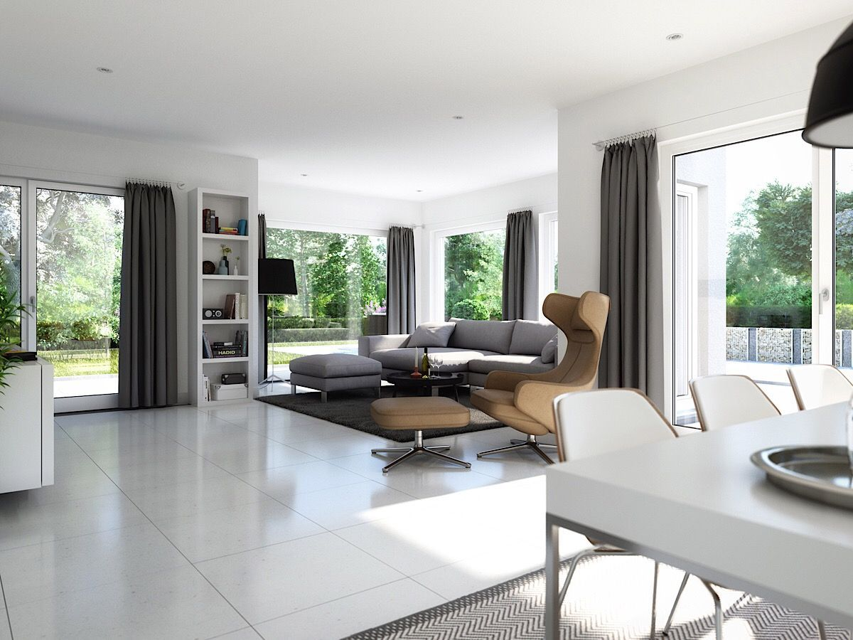 Offenes Wohn Esszimmer Ideen Stadtvilla