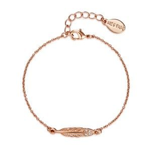 c1ec0e4f90335 Rose Gold Birds of a Feather Bracelet | Bracelets | Gold necklace ...