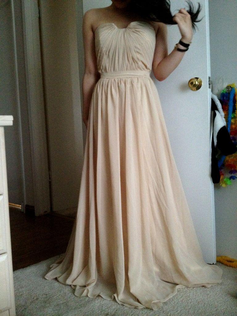 A-Line/Princess Sweetheart Floor-Length Chiffon Prom Dress With ...