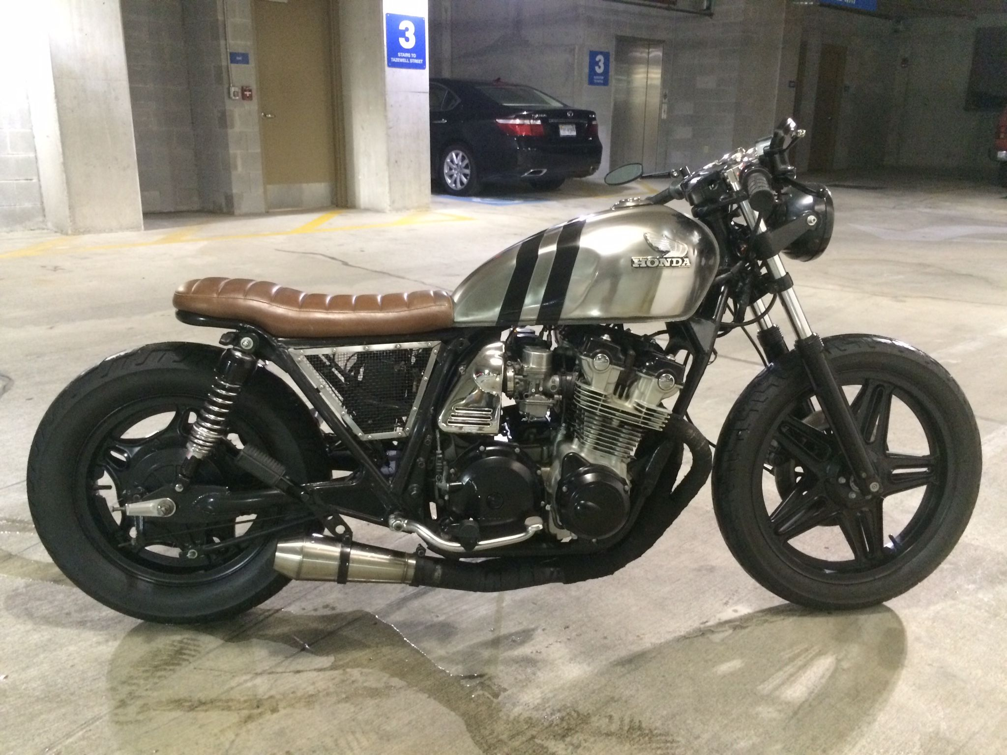 My Custom 1980 Cb750c Cafe Racer Honda Cb750 Cafe Racer Cafe Racer Motorcycle [ 1536 x 2048 Pixel ]