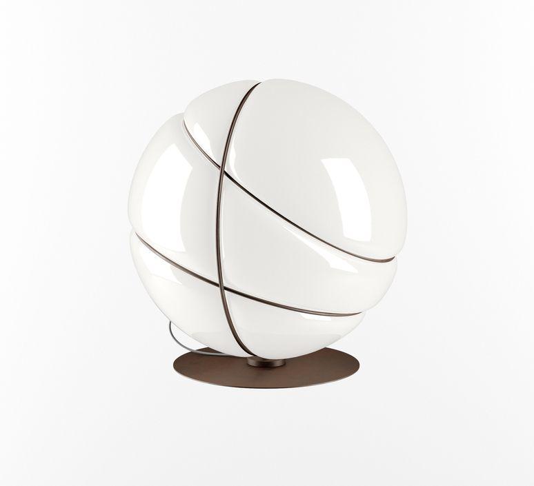 Lampe A Poser Armilla Bruni Blanc Bruni O39cm H39cm Fabbian En 2020 Lampe A Poser Lampe A Poser Design Lampe
