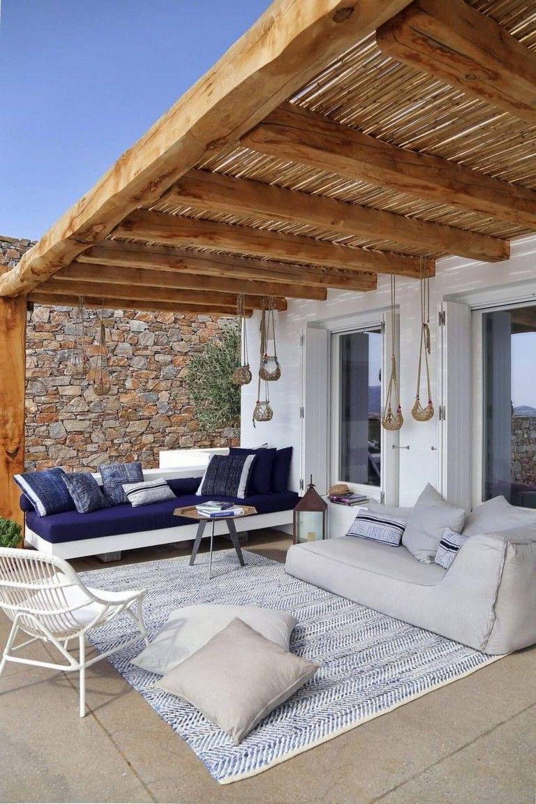 40 Lovely Coastal Terraces And Patios Design Ideas