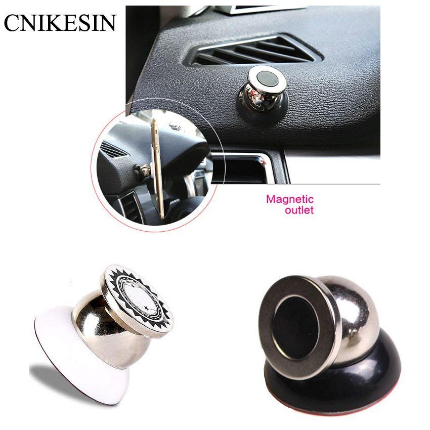 HOT Universal Car Supporto Del Basamento Del Telefono Accessori Auto Stent Magnete Girante Da 360 Gradi Magnetico Multifunzione Supporto Del Telefono Mobile