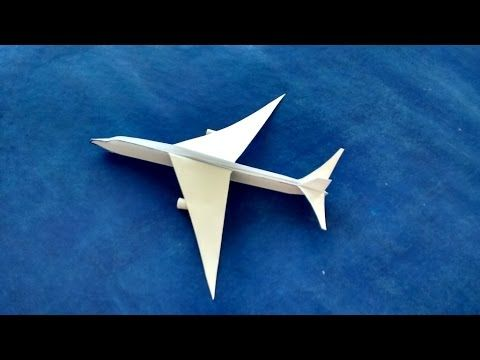 How To Make A Airplanes Best Plane Paper Airplane Origami Planes Airbus A320 By Datt Como Hacer Un Avion Aviones De Papel Papiroflexia Para Principiantes