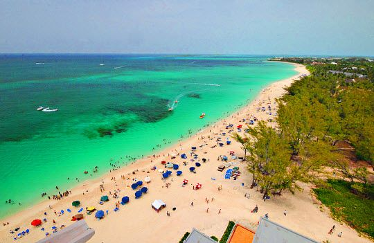 Cabbage Beach Paradise Island In The Bahamas