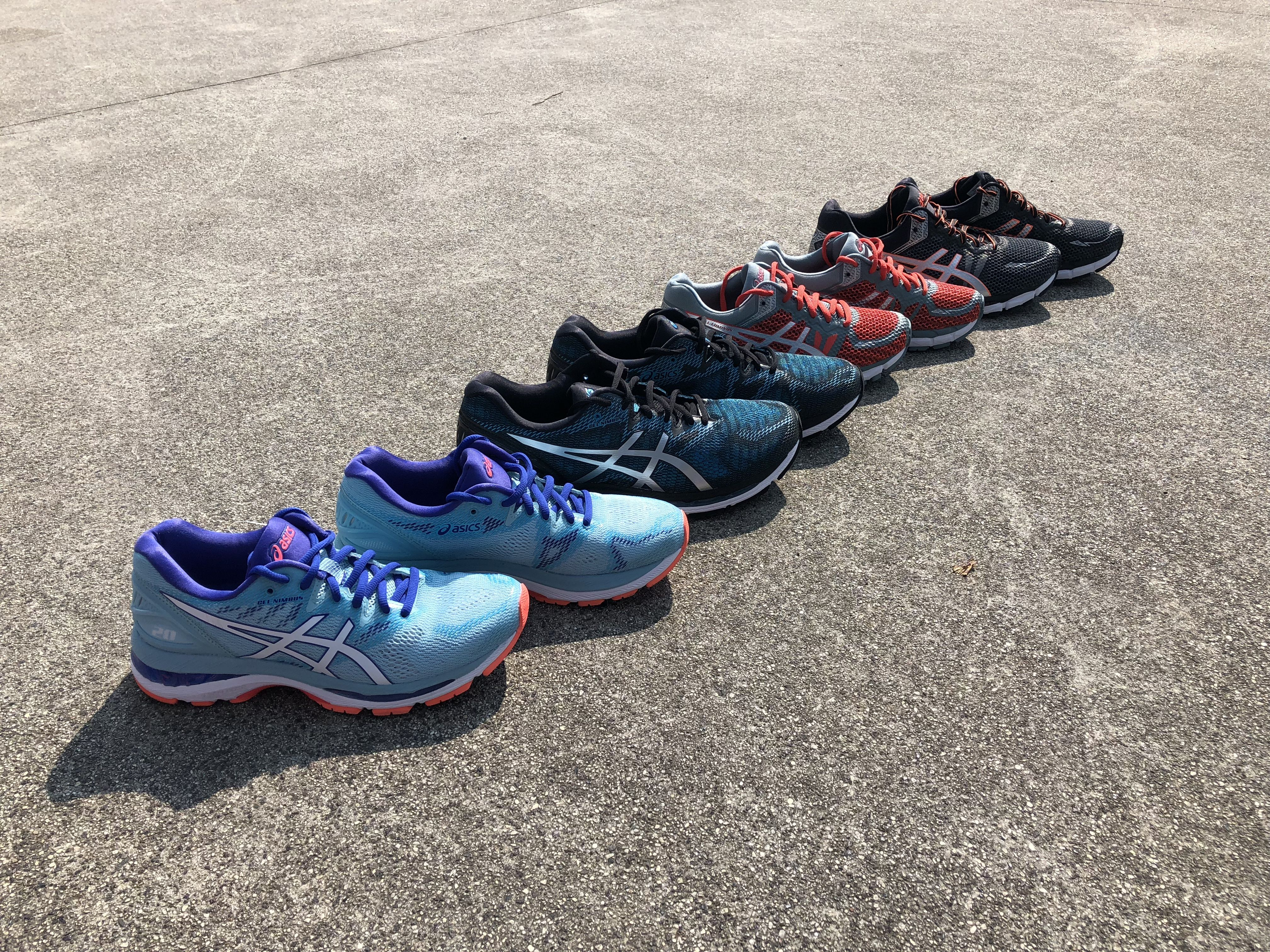 New Asics running collection available