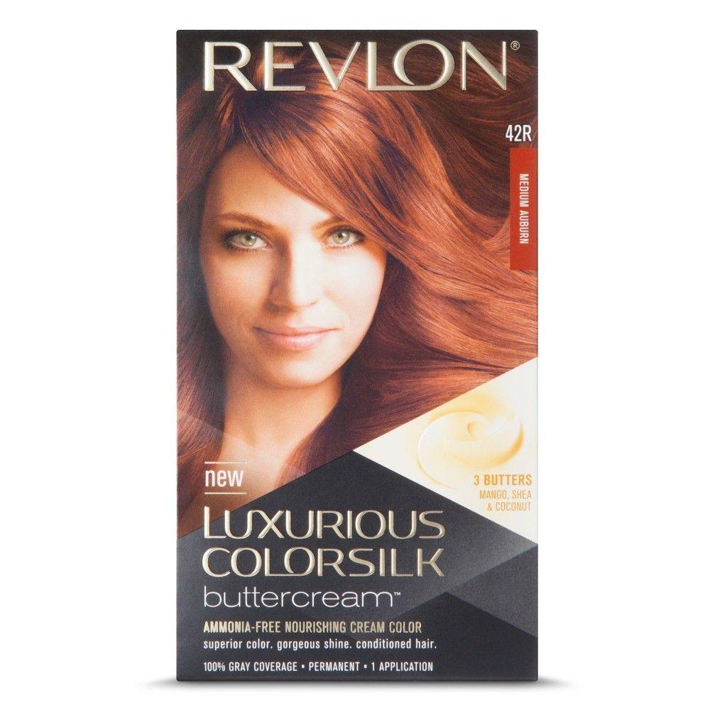 Revlon Luxurious Colorsilk Buttercream Haircolor Medium Auburn 1