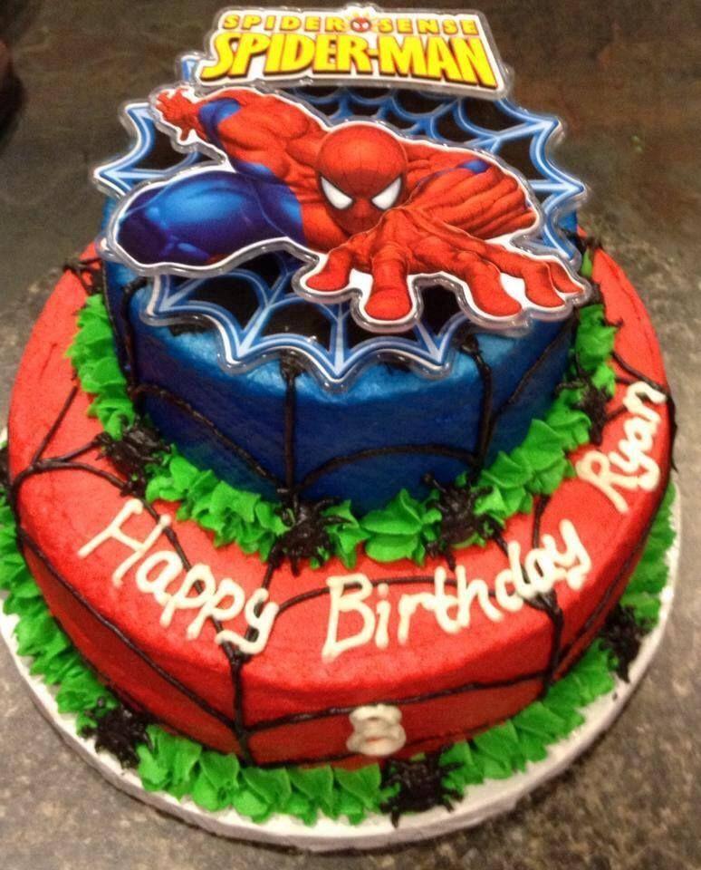 Spider-Man Birthday Cake   Birthday cakes for men ...