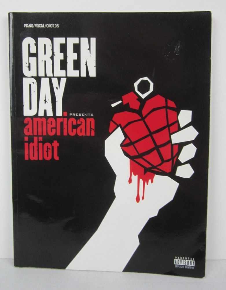 Green Day American Idiot Song Book Piano Vocal Guitar Chords