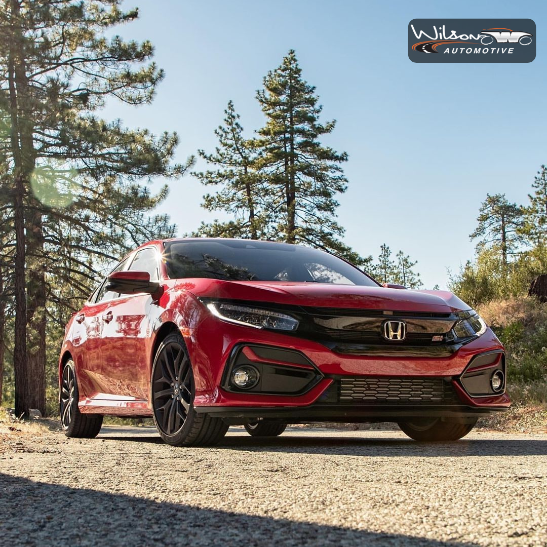 Whether you're cruising the city or exploring the great outdoors, the Honda Civic Si is an exciting ride. Its 1.5 liter turbocharged 4-cylinder engine is the key to its speed and power. Check out our @weircanyon_honda dealership for more vehicles like this one. #WilsonAutomotive #Honda #HondaCars #HondaUSA #anaheim #orangecounty #oc #honda #hondafest #hondas #hondaclub #hondaday #hondaculture #hondalife #weircanyonhonda #weircanyon #anaheim #oc #hondacivic #civicsi