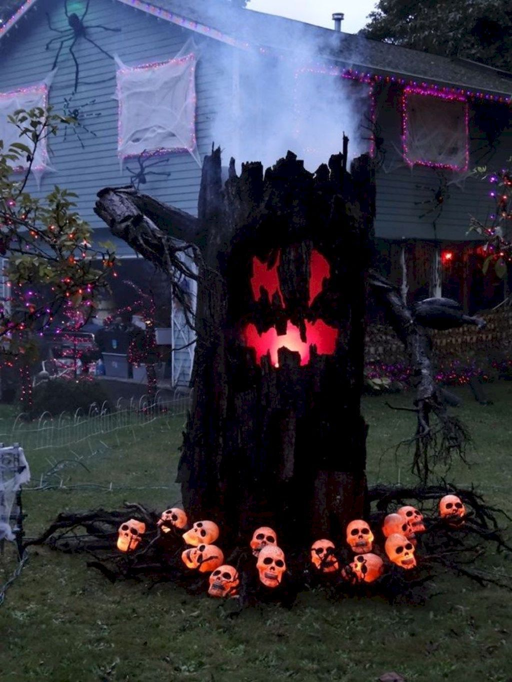 80 + CREEPY OUTDOOR HALLOWEEN DECORATION IDEAS (63 Halloween - Pinterest Outdoor Halloween Decorations