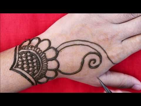 Easy Simple Arabic Mehndi Design For Hand 2020 | Simple New Henna design | Mehndi Design | Henna
